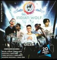 Show Indian Wolf em Jataí