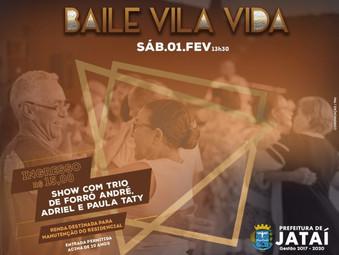 Condomínio Vila Vida promove baile aberto à comunidade, neste sábado