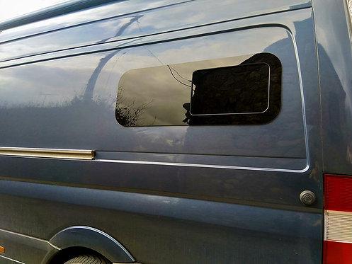 """VAN BUNK HALF-SLIDER WINDOW DRIVER SIDE 40"""" X 15"""""""
