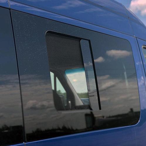 PASSENGER SIDE SLIDING DOOR SCREENED HALF-SLIDER WINDOW SPRINTER VAN 07-21