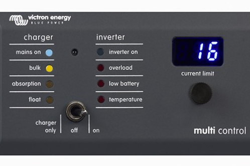 Victron Energy Multi Control GX for Multi-Plus and Quattro
