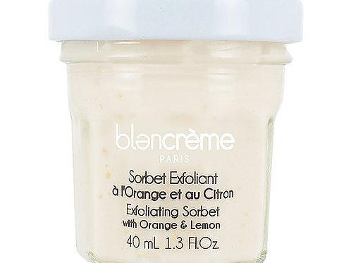 Sorbet exfoliant orange & citron