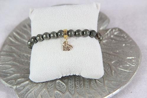 Bracelet Pierre de pyrite