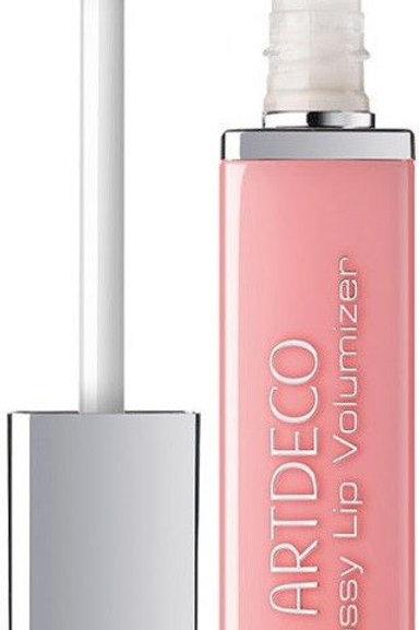 Glossy lip volumizer