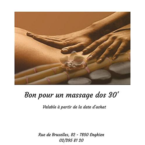 Bon massage 30'