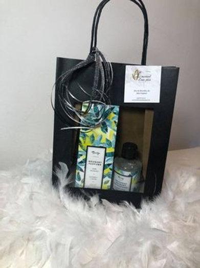 Bouquet parfumé +  recharge - Verveine & fleur de citronnier