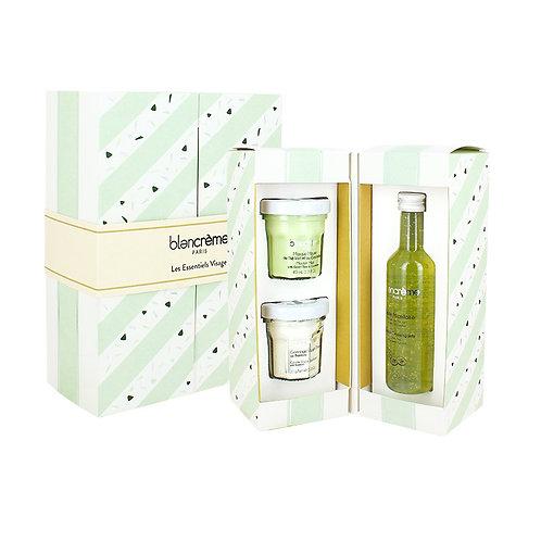 Trio essentiel visage thé vert bambou