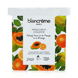 Masque visage tissu Papaye & orange