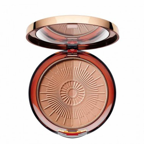 BRONZING POWDER COMPACT LONG-LASTING