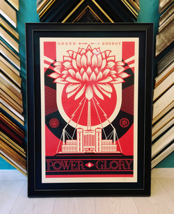 Lithographie OBEY Shepard Fairey