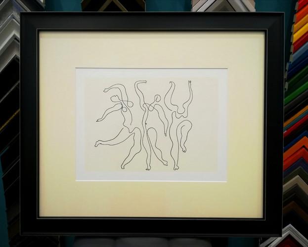 """Sérigraphie Picasso """"les trois danseuses"""""""