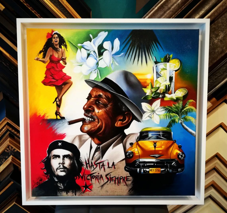 Tableaux de Marie Rocher Cuba