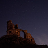 Star Photography at Mow Cop Castle