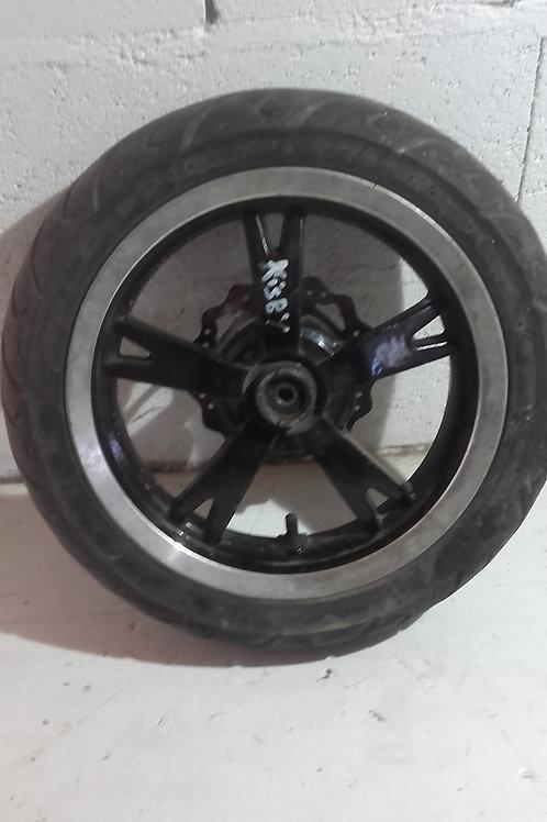 Roue avant + Disque (pneu 50%) Peugeot Kisbee