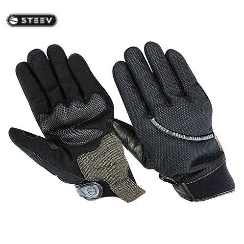 Gants de protection STEEV HIVER Noir T10- L