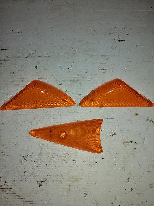 Cabochons clignotants (2 avant + 1 arrière droit) Peugeot Speedfight 1-2