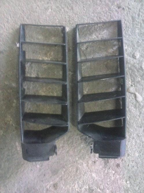 Grille radiateur paire