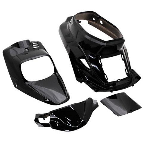 Kit carénage Noir MBK Booster ancien modèle 1999 > 2003