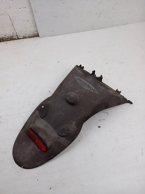 Bavette arrière / Support plaque Peugeot Vivacity 1 & 2