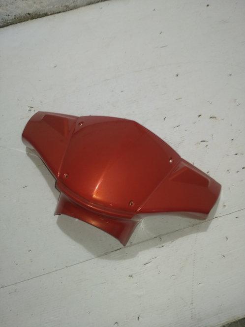 Carénage guidon Peugeot Kisbee orange corail