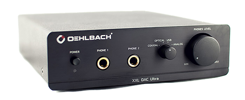 Oehlbach XXL DAC Ultra Kopfhörer-Verstärker