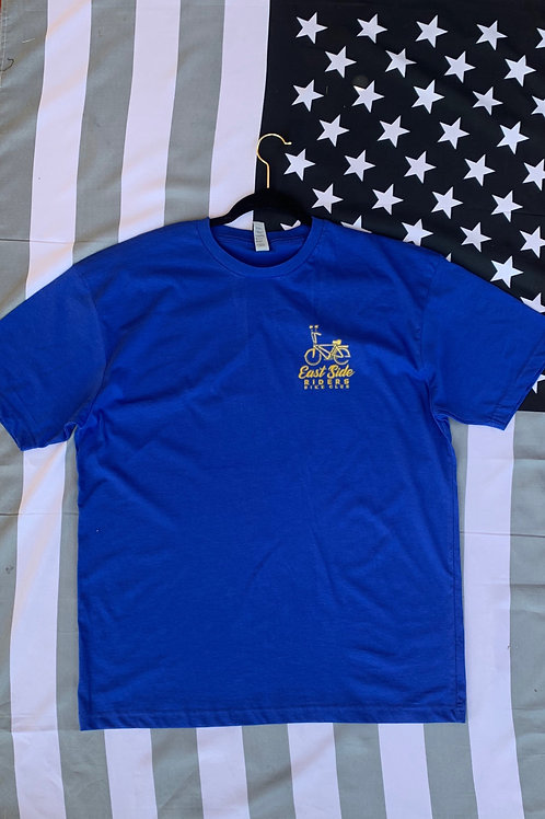 East Side Riders Blue Tee