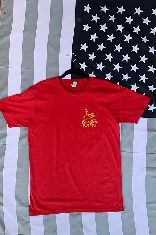 East Side Riders Red Tee
