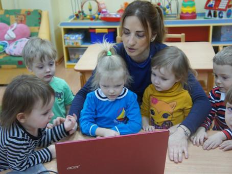 Занятия с самыми маленькими детками