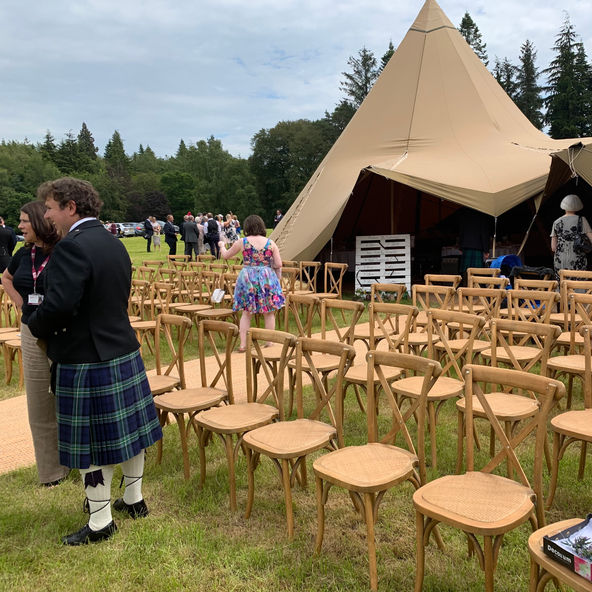Tipi Bowhill House