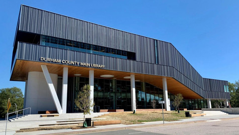 Downtown Durham's Newly Renovated Main Library