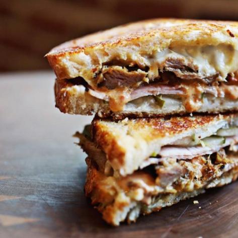 American Meltdown sandwich