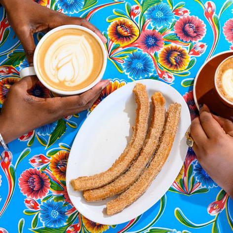 churros at Cocoa Cinnamon