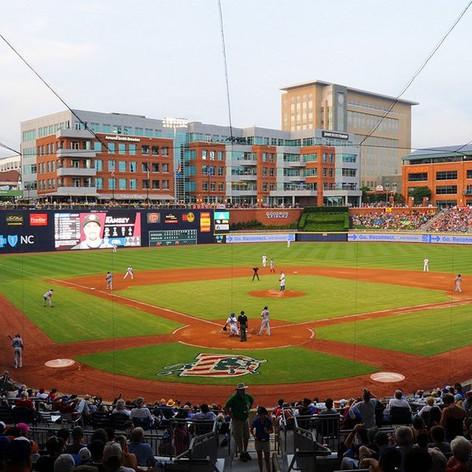 Durham Bulls baseball field