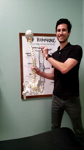 torque release technique for chiropractic