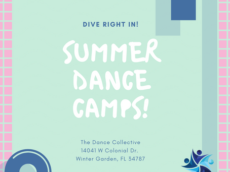 Dive Right In to Summer Camps!