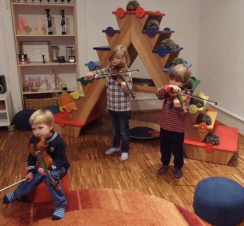 Kinder in der musikalischen Früherziehung, Musik für Kinder