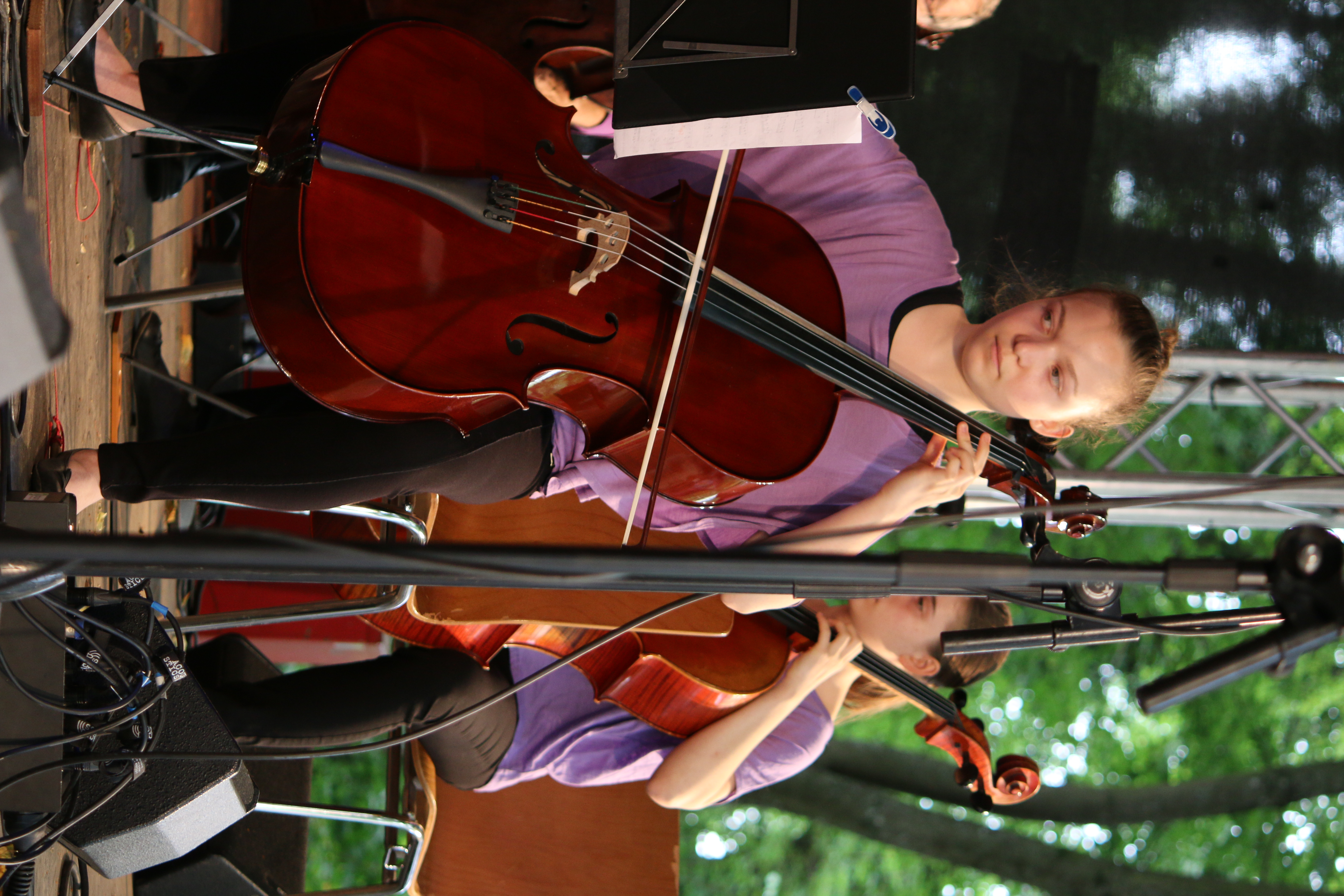 Cello Violoncello Konzert Orchester