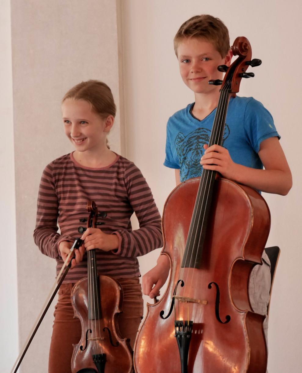 Viola Cello Schüler Musikschule