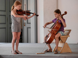 Konzert Duo Geige Cello Musikschule