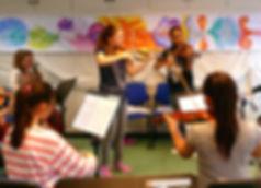 Orchester Violine Cello Musikschule