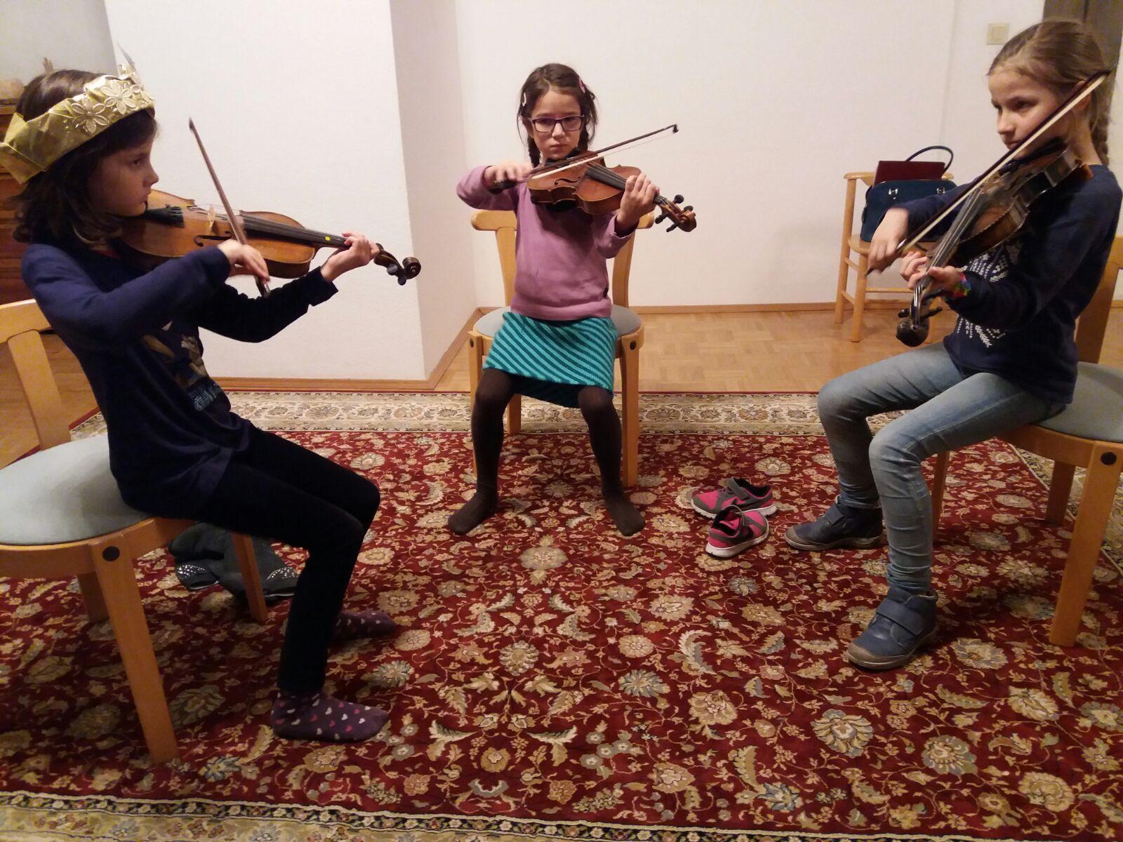 Kinder Geigenunterricht Kammermusik