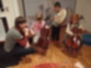 Kammermusik Cello Trommel Musikschule