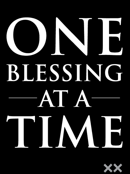 One Blessing at a Time