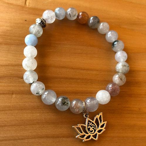 Lotus Charm Serenity Bracelet