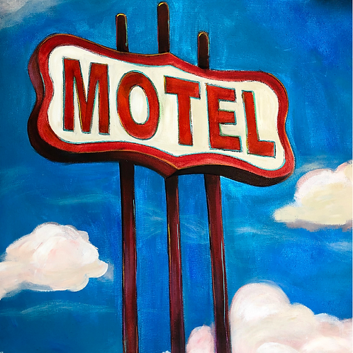 "Greeting Card of ""Motel"""