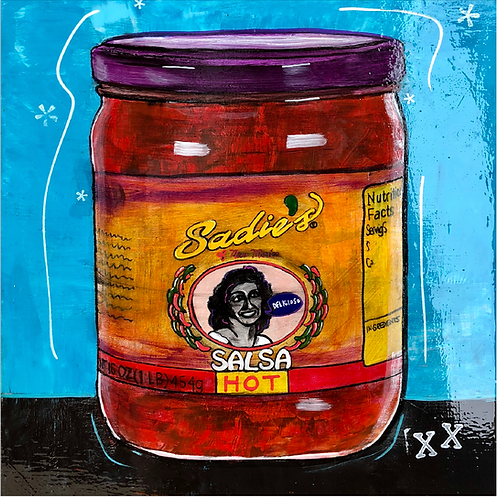 "Greeting Card of ""Sadie's Salsa"""