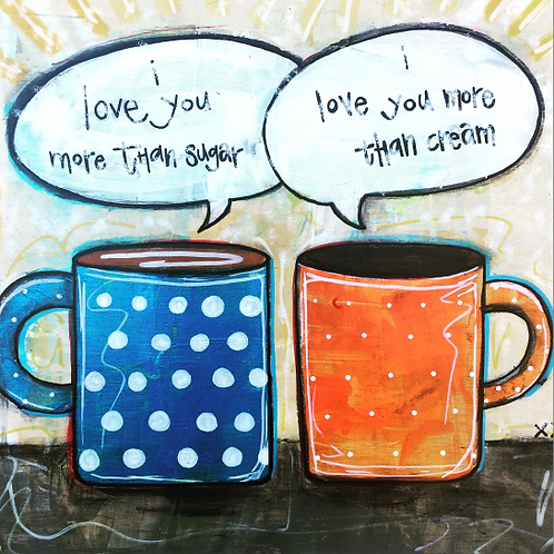 "Print of ""Coffee Love"""