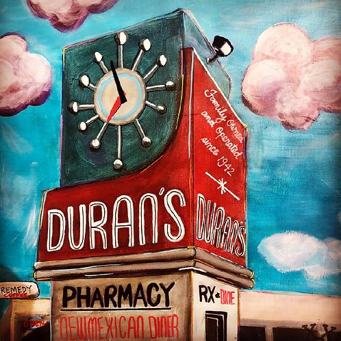 """Print of """"Duran's"""""""