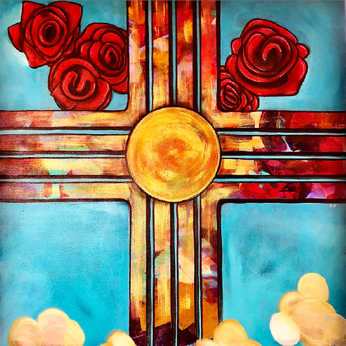 """Print of """"Sandia Sunrise"""""""
