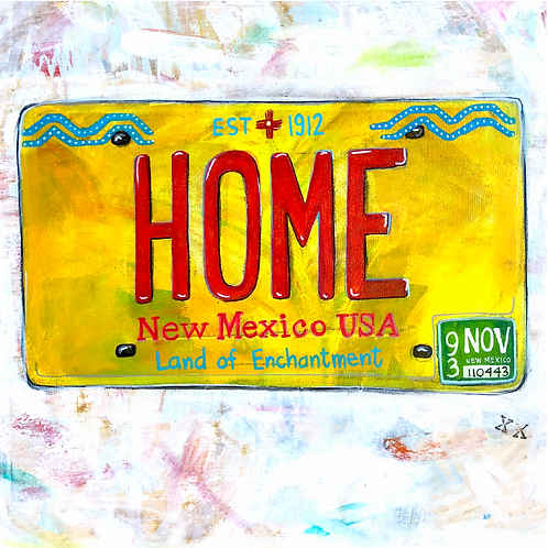 "Greeting Card of ""New Mexico Drivers"""